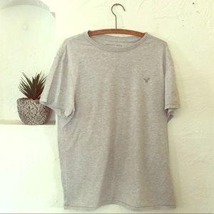 American Eagle Gray T-Shirt